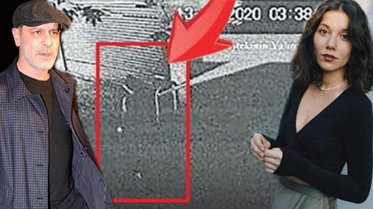 Kamera kayıtları ortaya çıktı! Deniz Bulutsuz çıplak ayakla sokağa kaçmış