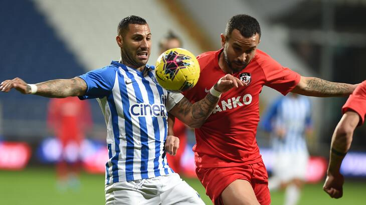 Kasımpaşa, Süper Lig'de Gaziantep FK'ye konuk olacak