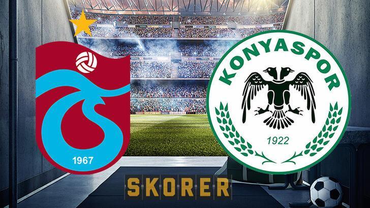 Trabzonspor Konyaspor maçı ne zaman, saat kaçta, hangi kanalda?