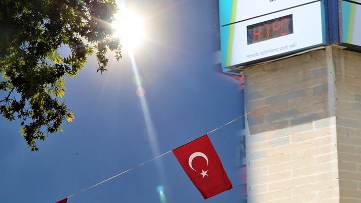 Bugün Elazığ'da termometreler 47 dereceyi gösterdi!