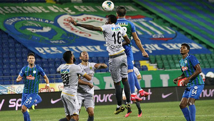 Çaykur Rizespor-Yeni Malatyaspor: 3-0