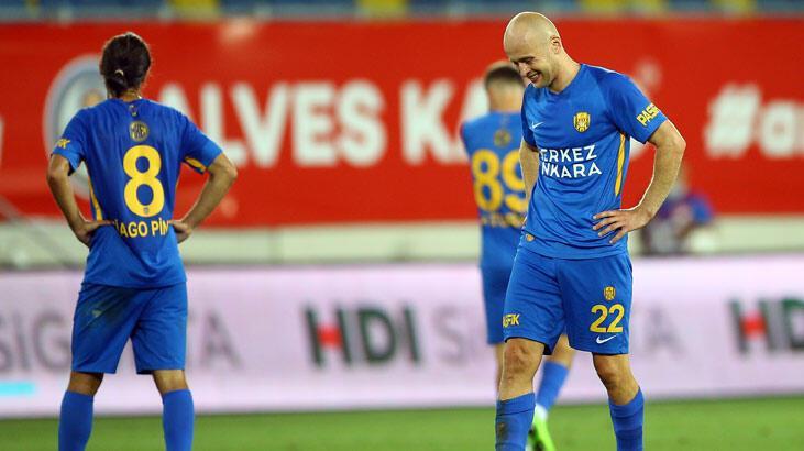 Son dakika | Ankaragücü Süper Lig'e veda etti! Maçtan sonra büyük yıkım...