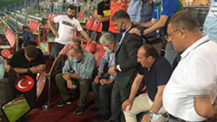 Çaykur Rizespor protokolünde Medipol Başakşehir sevinci!