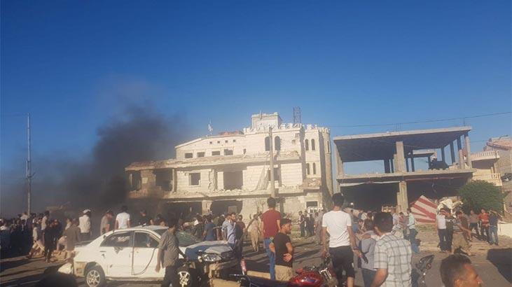 ABD Azez'deki bombalı saldırıyı kınadı