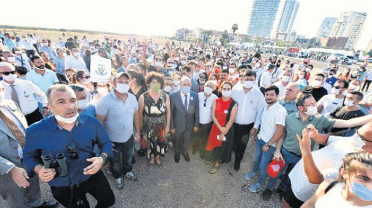 'İzmir halkı ranta karşı'