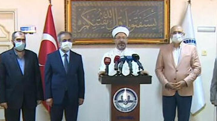 Son dakika: Diyanet İşleri Başkanı açıkladı! İşte Ayasofya'da görevlendirilen imamlar ve müezzinler