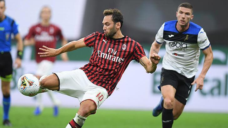 Hakan Çalhanoğlu yine gol attı! Milan, Atalanta ile yenişemedi... - Futbol  - Spor Haberleri