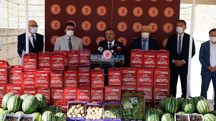 Yağcı'dan 'Bayramda  çiftçinin de işçinin de yüzü gülsün' kampanyası