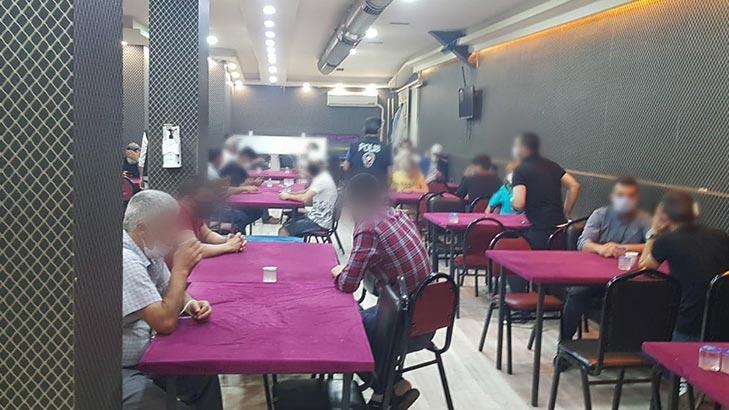 Eskişehir'de şok baskın! 55 kişi kumar oynarken yakalandı