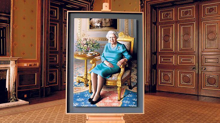 Kraliçeye özel sanal sergi