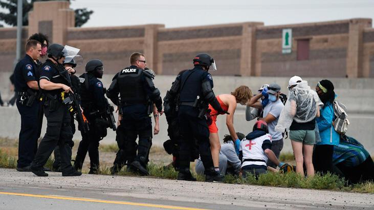 ABD'de protestolarda araçlı saldırı
