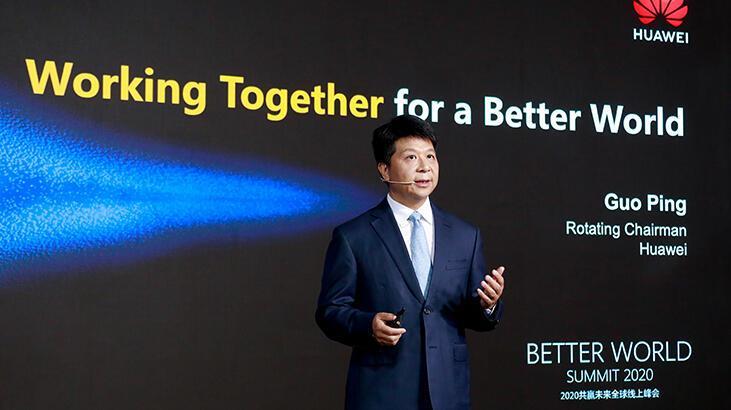 Huawei CEO'su Guo Ping: 'Pandemi, yaşama ve çalışma kültürümüzü şekillendirdi'