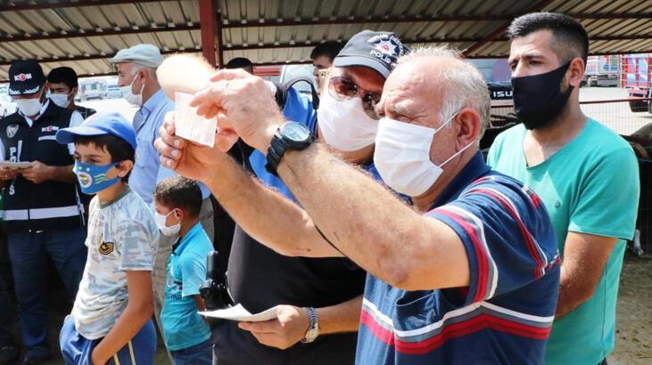 Sakarya'da kurbanlık satıcılarına sahte para uyarısı