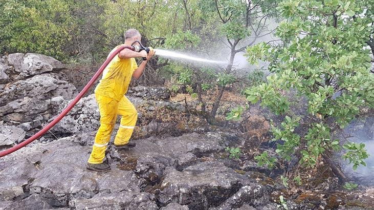 Diyarbakır'da örtü yangını! Ekipler müdahale ediyor