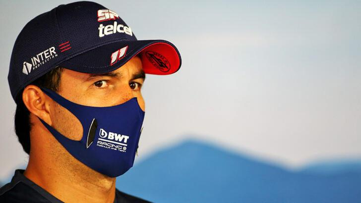 F1 pilotu Perez'in koronavirüs testi pozitif çıktı