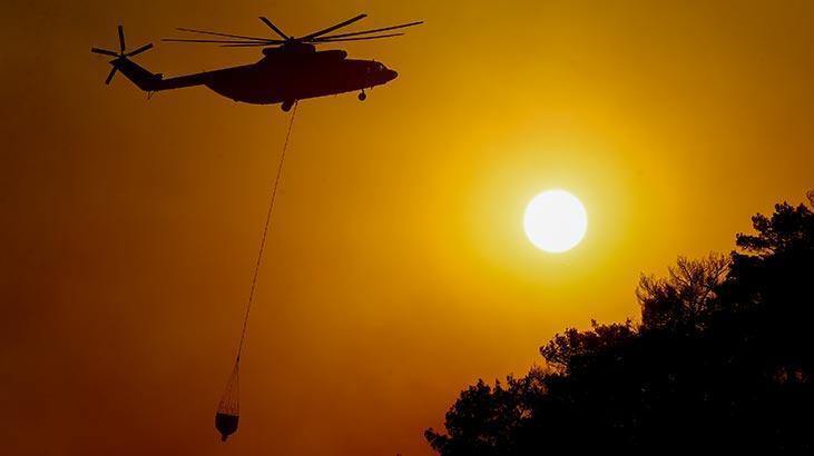 İzmir'deki ormanlık alanında çıkan yangında sıcak gelişme