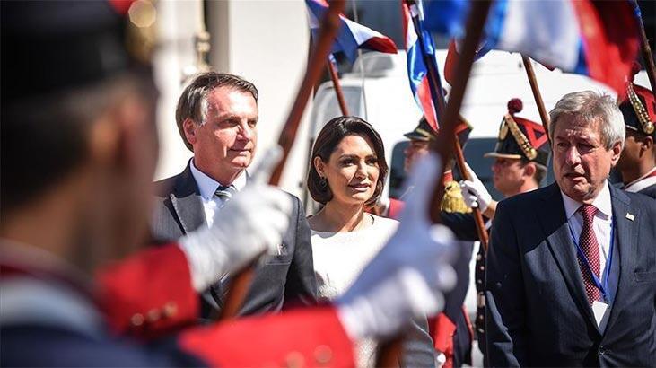 Brezilya Devlet Başkanı Jair Bolsonaro'nun eşi de corona virüse yakalandı!