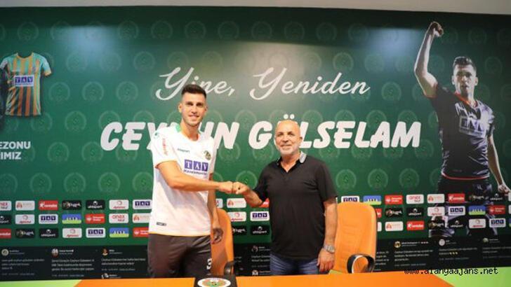 Son dakika | Alanyaspor, Ceyhun Gülselam ile sözleşme yeniledi