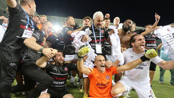 Son dakika | Fatih Karagümrük, Süper Lig'e yükseldi!