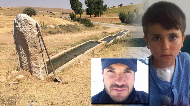 Babası gözleri önünde ölen İzzet'i taş attığı için öldürmüş