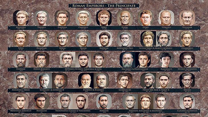 İmparatorlara fotogerçekçi portreler