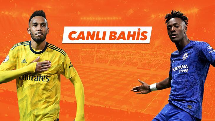 Arsenal - Chelsea canlı bahis heyecanı Misli.com'da