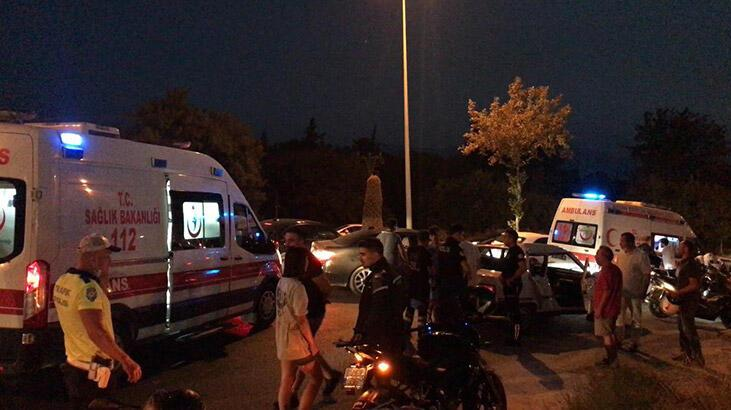 Kuşadası'nda trafik kazası: 1'i çocuk 4 yaralı