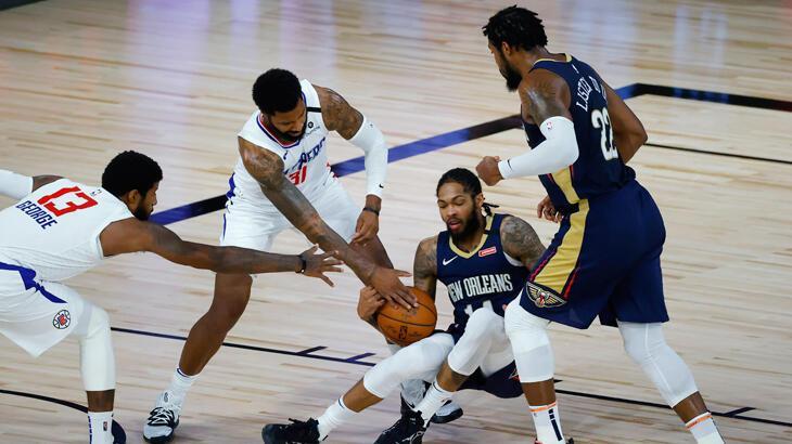NBA'de Los Angeles Clippers, üçlük rekoru kırarak kazandı