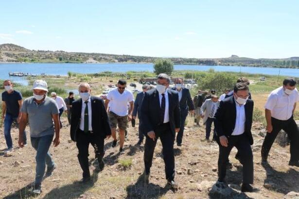 Emre Gölü Çevre ve Frig Medeniyet Bahçesi projesi tanıtıldı