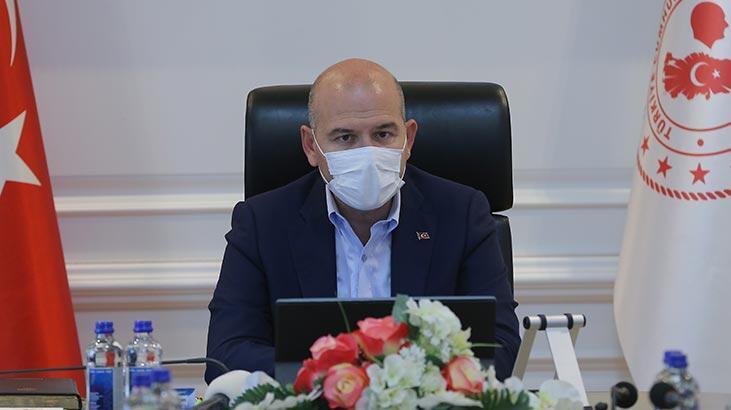 İçişleri Bakanı Soylu, Afrin'deki güvenlik görevlilerinin bayramını kutladı