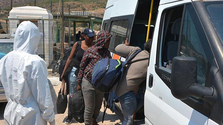 Datça açıklarında 37 kaçak göçmen yakalandı!