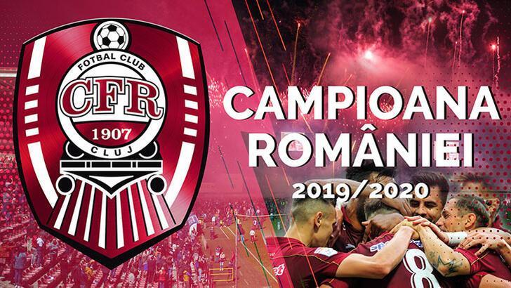 Cluj, Romanya'da üst üste 3'üncü kez şampiyon