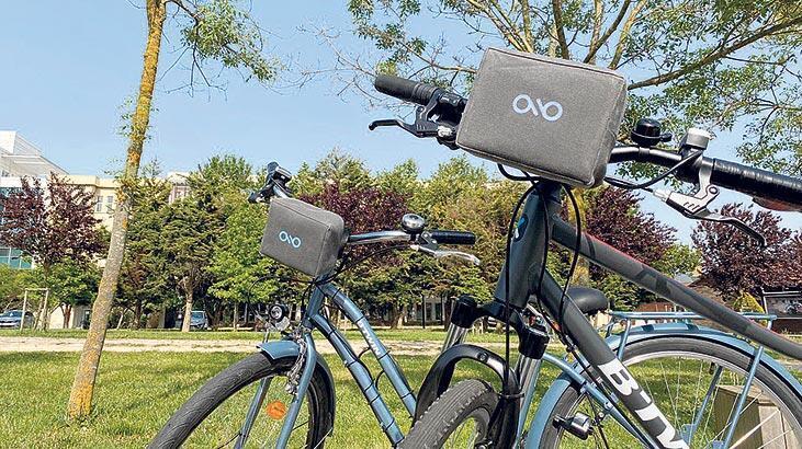Çekirdekten e-bisiklet çıktı!