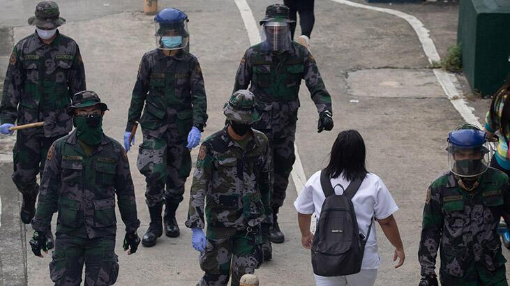 Filipinler'de ikinci dalga endişesiyle on milyonlarca kişiye karantina!