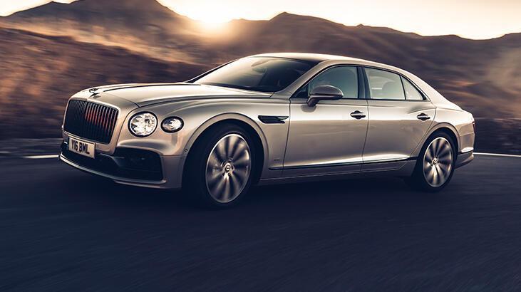 Bentley Flying Spur'da ilk kez kullandı!
