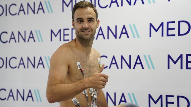 Sivasspor'da Jorge Felix sağlık kontrolünden geçti!
