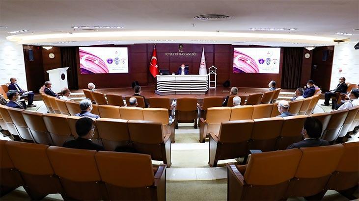 İçişleri Bakanlığı'nda, 'Güvenlik, İstihbarat ve Değerlendirme' toplantısı