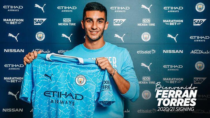 Manchester City, Ferran Torres'i transfer etti!