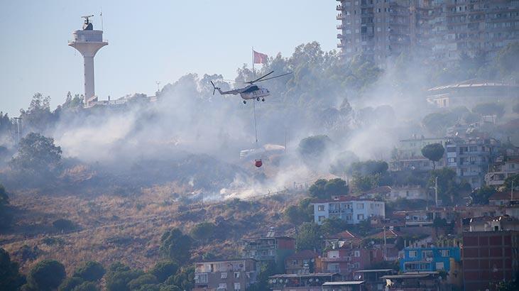 MSB'den İzmir'deki yangınla ilgili açıklama: Tamamen kontrol altına alındı