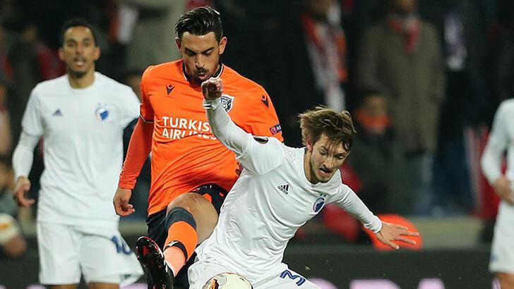 UEFA Avrupa Ligi'nde Başakşehir, Kopenhag karşısında!