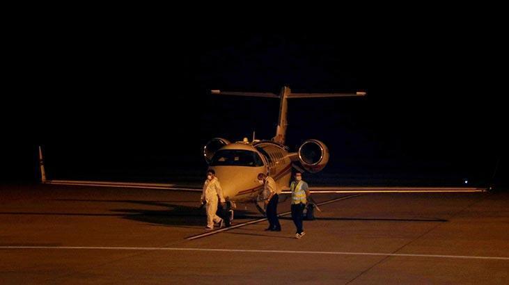Rusya'dan ambulans uçakla geldi! Tedavi altına alındı