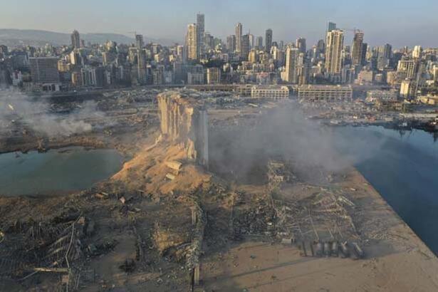 Lübnan'ın başkenti Beyrut nerede? Haritası.. Beyrut'ta ne patladı?