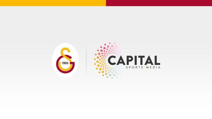 Galatasaray ile Capital Sports Media arasında iş birliği anlaşması