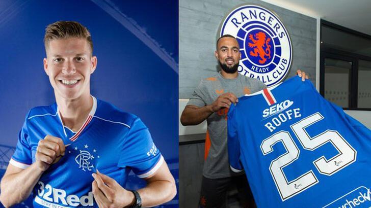 Glasgow Rangers'tan iki transfer birden