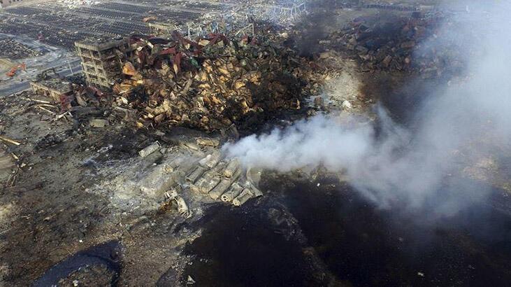 Beyrut'taki patlama, 2015'teki Tianjin patlamasıyla karşılaştırıldı