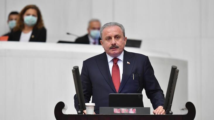 TBMM Başkanı Mustafa Şentop, Pozantı Kongresinde
