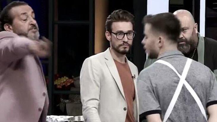 Mehmet Şef yarışmacıyı stüdyodan kovdu!