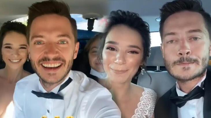 Serkan Şenalp ve Esengül Yılmaz düğün yaptı