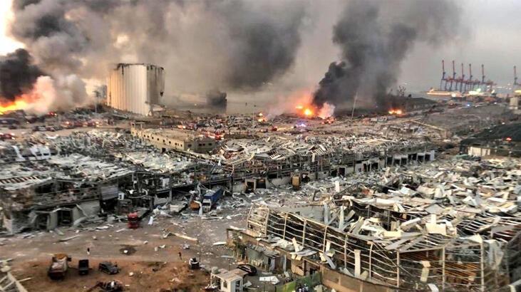 Son dakika... Beyrut'taki patlama! Bakan Varank: 6 sene önce İstanbul Boğazı'ndan geçti