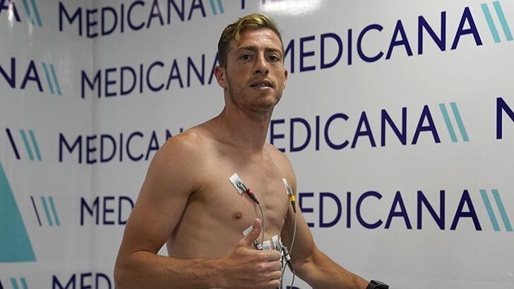 Hakan Arslan, Sivasspor'da sağlık kontrolünden geçirildi